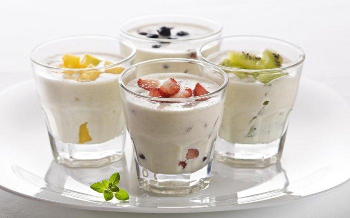 Йогурт или производства напитков