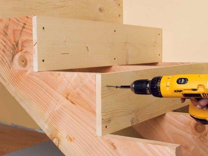 Изготовление деревянных лестниц