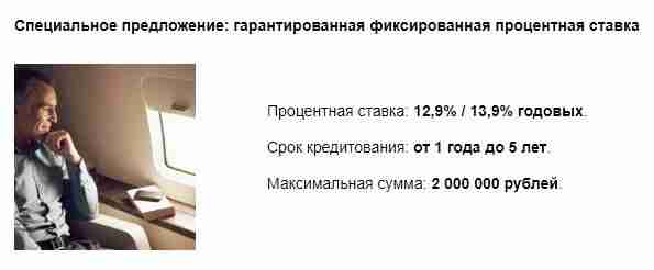 Кредит «Для клиентов Premium» от Райффайзенбанка