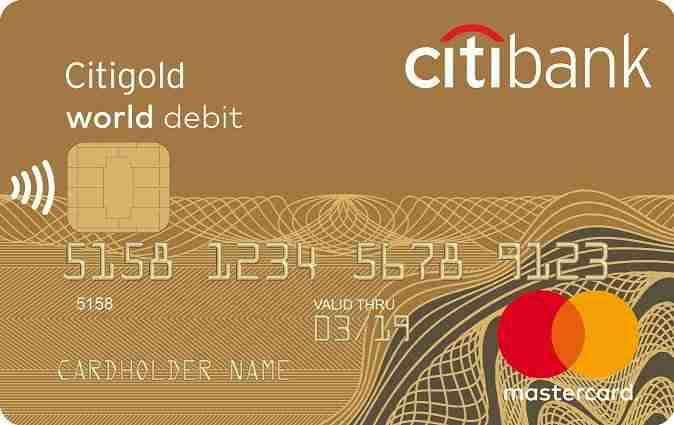 Вклад «Для новых клиентов Citigold» от Ситибанка