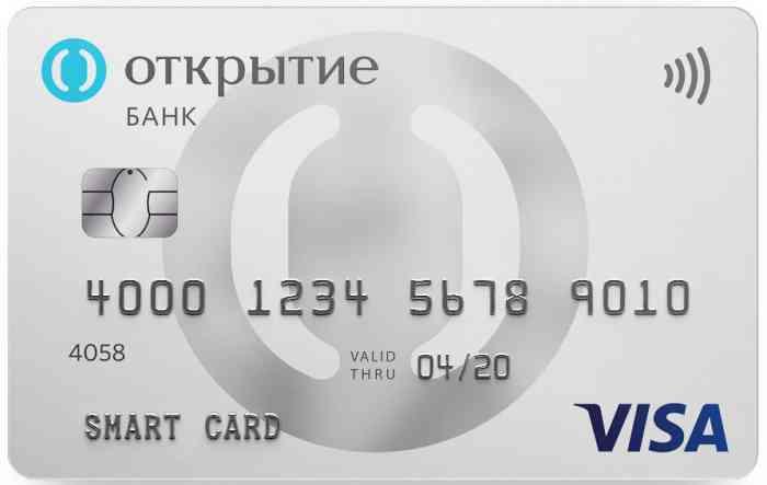 «Смарт карта» от банка «ФК Открытие»