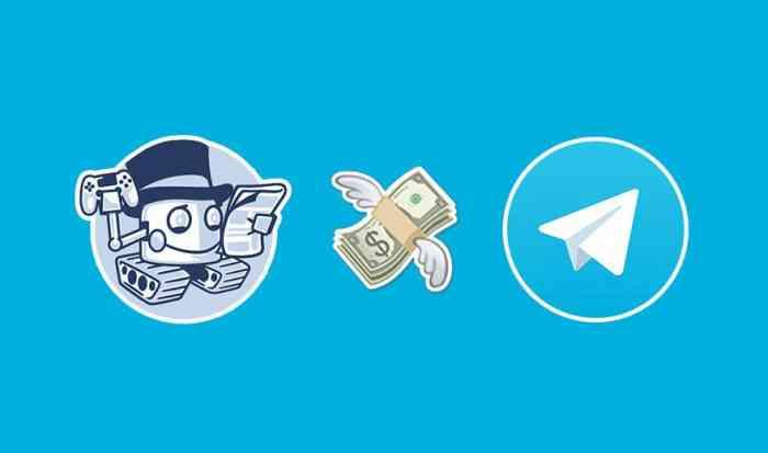Заработок денег, работая с ботами в Телеграмме