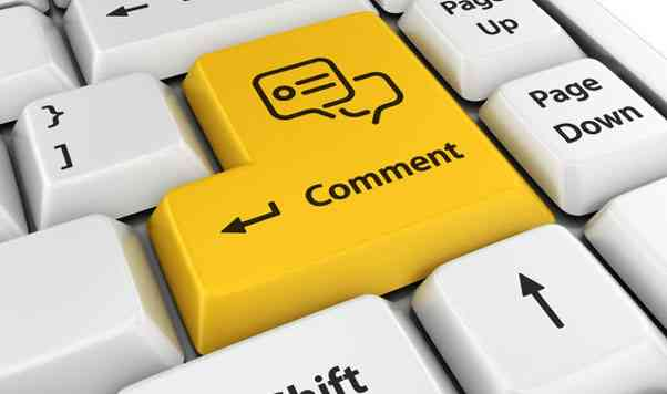 Комментарии на различных блогах