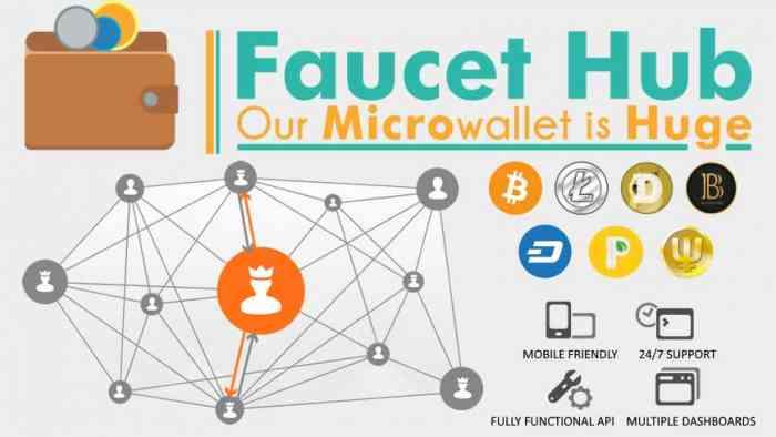 Микрокошелек Faucethub