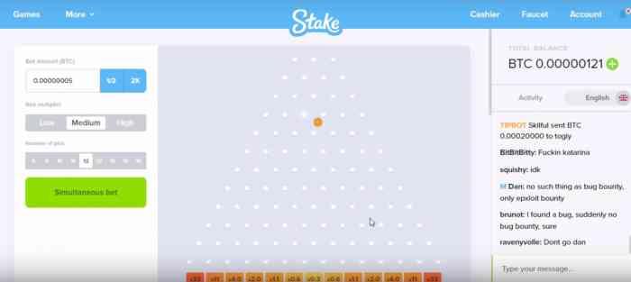 Самая интересная игра на биткоины в Stake – это Mines