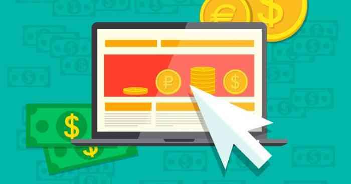 Заработок денег на сайтах активной рекламы