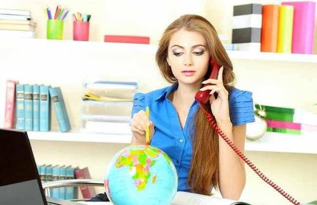 Работа за рубежом для женщин