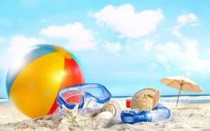 Пляжные товары, очки, сувениры
