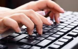 Работа в интернете: Набор текста на дому