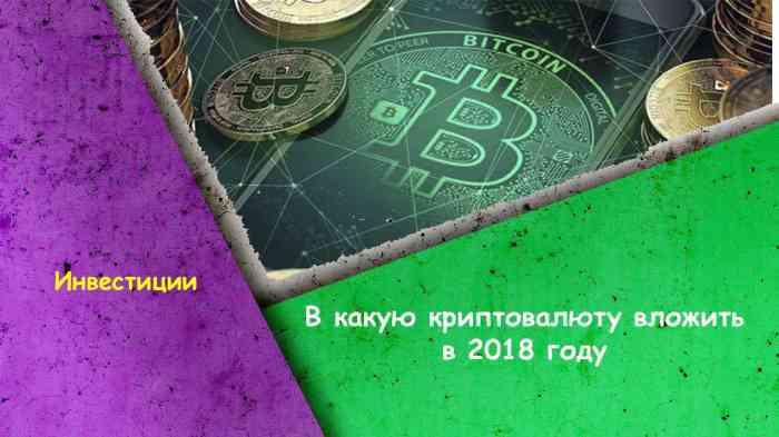 В какую криптовалюту вложить в 2019 году