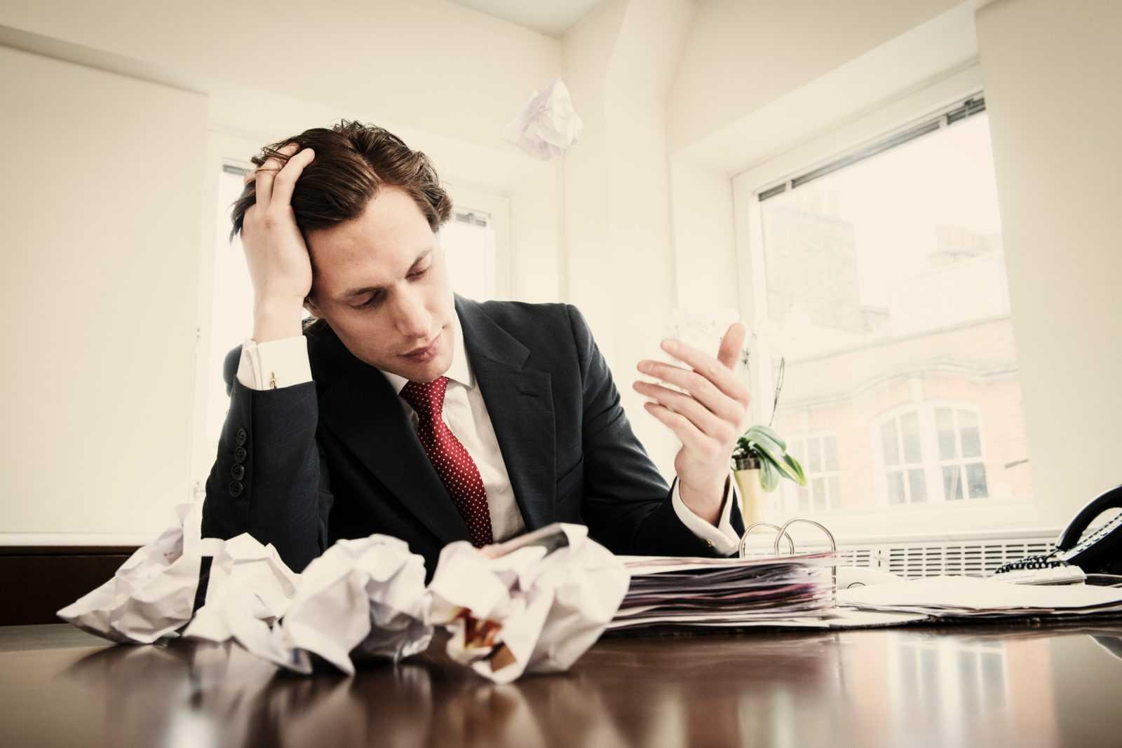 Ошибки в бизнесмена